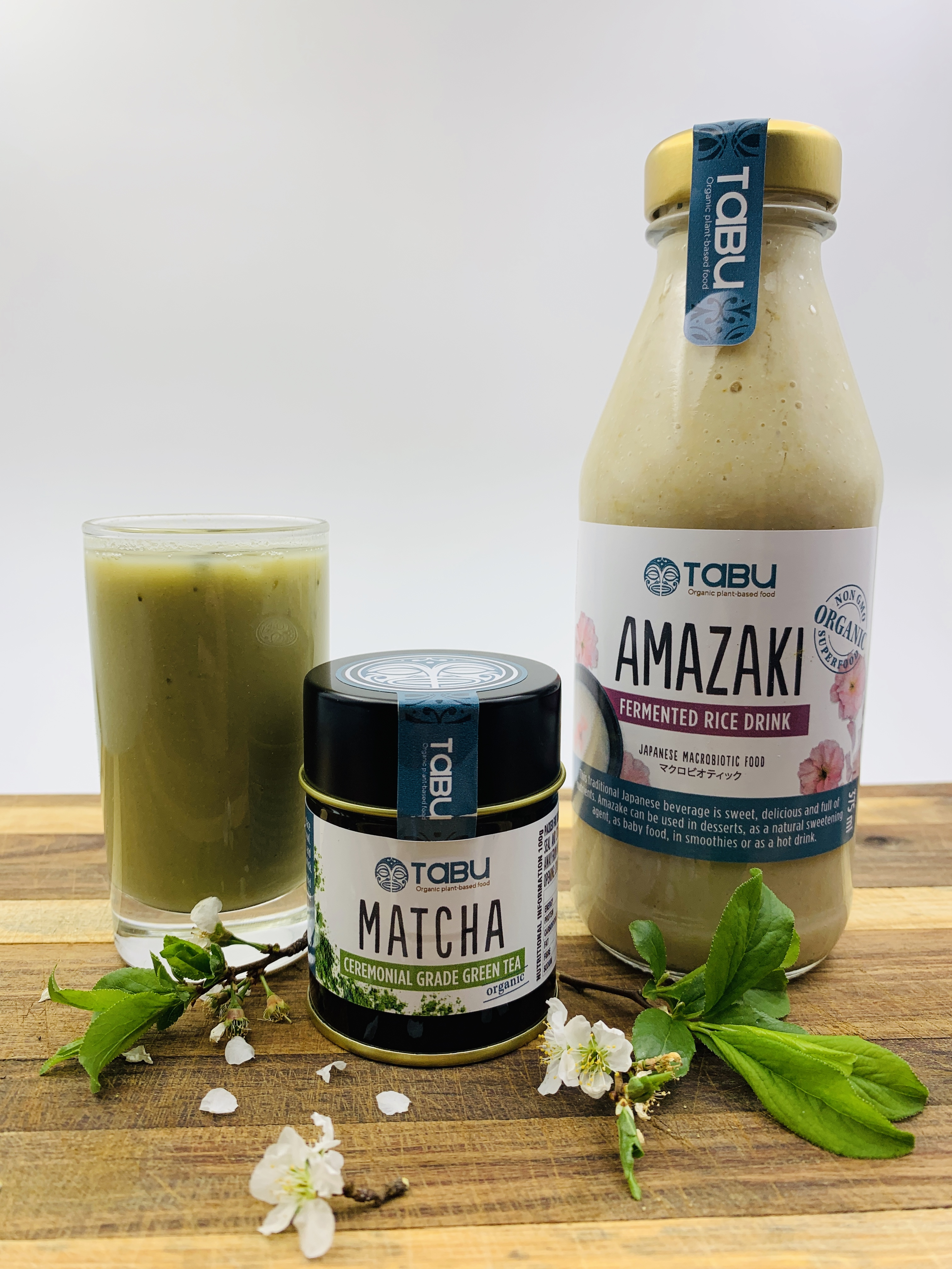 Amazake Matcha Smoothie